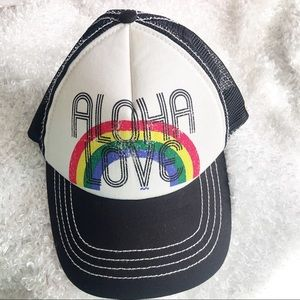 """Aloha Love"" Billabong SnapBack,Out stock, aloha"